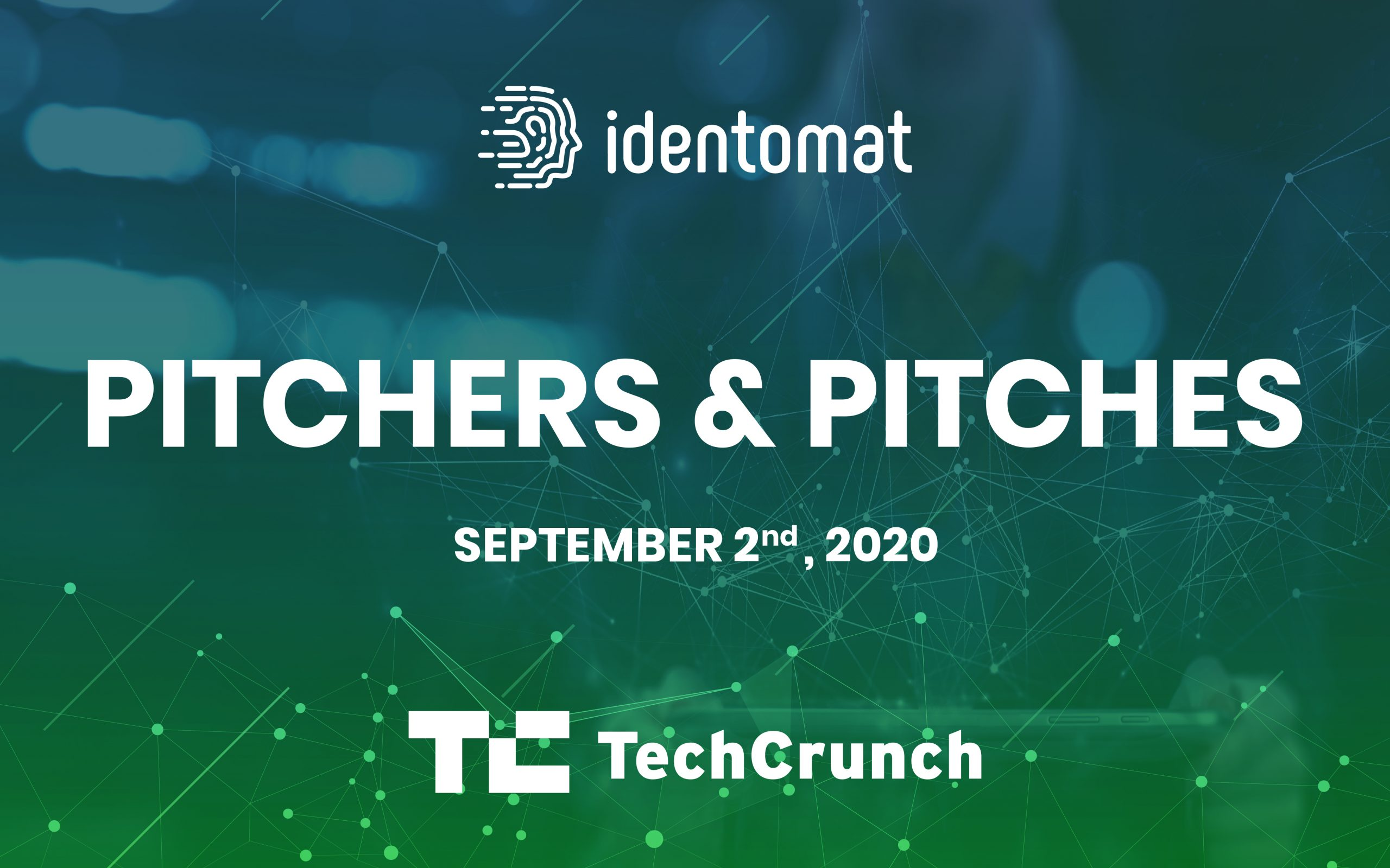 Don't Miss Identomat's Pitch At The Pre-Disrupt 2020 Masterclass